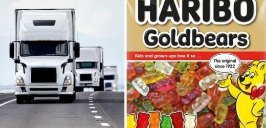 Sweets shortage as lorry driver shortage worsens – Haribo says 'we're facing challenges'