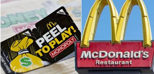 How long you have left to claim McDonald's Monopoly 2021 prizes – Wins still available