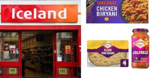 Iceland shoppers can get deals on curry meals, McCain chips and free naan